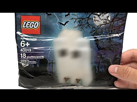 LEGO Halloween Ghost 2010 polybag review... WARNING: EXTREMELY SCARY. 21+