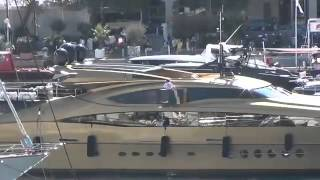 Palmer Johnson Super Yacht At The Monaco Yacht Show 2012