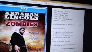 ABRAHAM LINCOLN CONTRA LOS ZOMBIES - [2012] [Audio Latino] [BRrip] [2 Link] [BITSHARE]