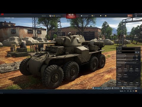 War Thunder - Received The T18E2! (United States Rank II Collectible Premium Armored Car)