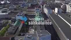 Kaukolämpötyömaa Satakunnankatu, Tampere