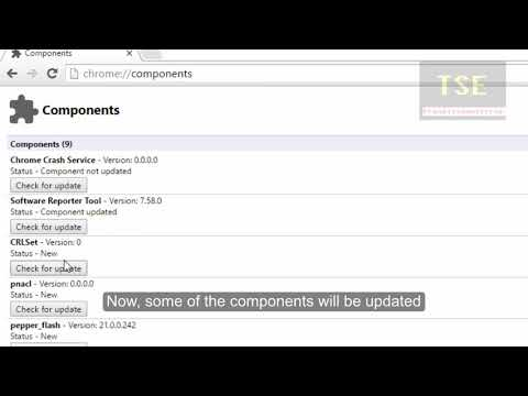 chrome //components and under widevinecdm click check for update