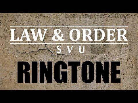 Latest iPhone Ringtone - Law and Order Theme Ringtone