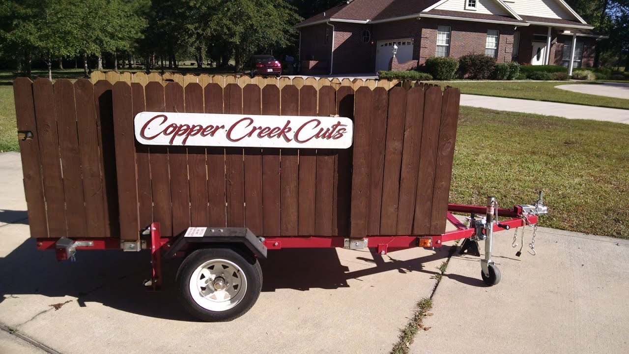 Harbor Freight 4x8 Trailer - Lawn Care Trailer