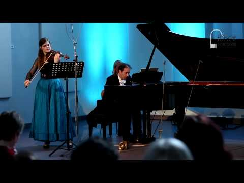 Schubert Violin Sonatina in D Major Op. 137 - Marlene Hemmer (viool) en Jochem Geene (piano)