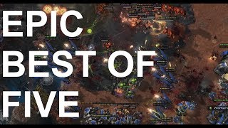EPIC - INnoVation (T) v Rogue (Z) BEST OF 5 - StarCraft2 - Legacy of the Void 2018