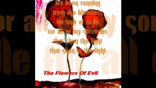 Marilyn Manson - The flowers of Evil (lyrics)