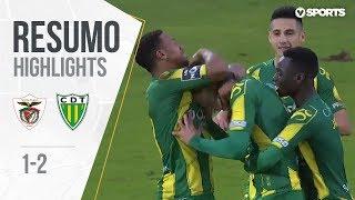 Highlights | Resumo: Santa Clara 1-2 Tondela (Liga 18/19 #15)