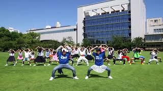 ロート製薬の本社で撮影したテレビCM 楽しく踊れる「セノビックダンス」...