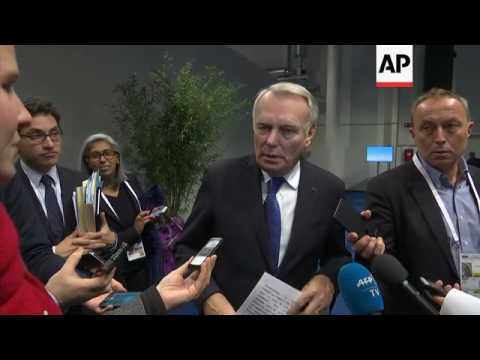 France FM on Syria and Brexit on OSCE sidelines
