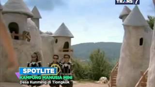 spotlite trans 7 kampung manusia mini