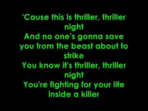 glee thrillerheads will roll lyrics