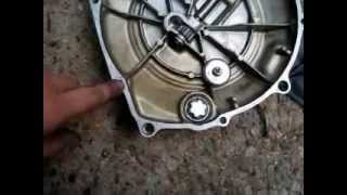 Motorcycle Clutch: Changing Friction Plates on