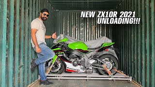 UNLOADING New ZX10R 2021👍😘