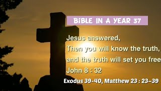 성경일년일독 37 (NIV, 개역개정): 출애굽기 39…