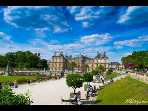 Luxembourg Garden Paris Time Lapse