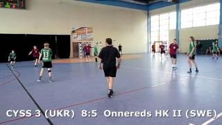 U15 boys. Group M02 gr 2. Lajkonik cup 2017. Onnereds HK II (SWE) - CYSS 3 (UKR) - 6:13 (1st half)