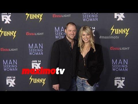 Andrea Roth & Todd Biermann   It's Always Sunny in Philadelphia Season 10 Premiere