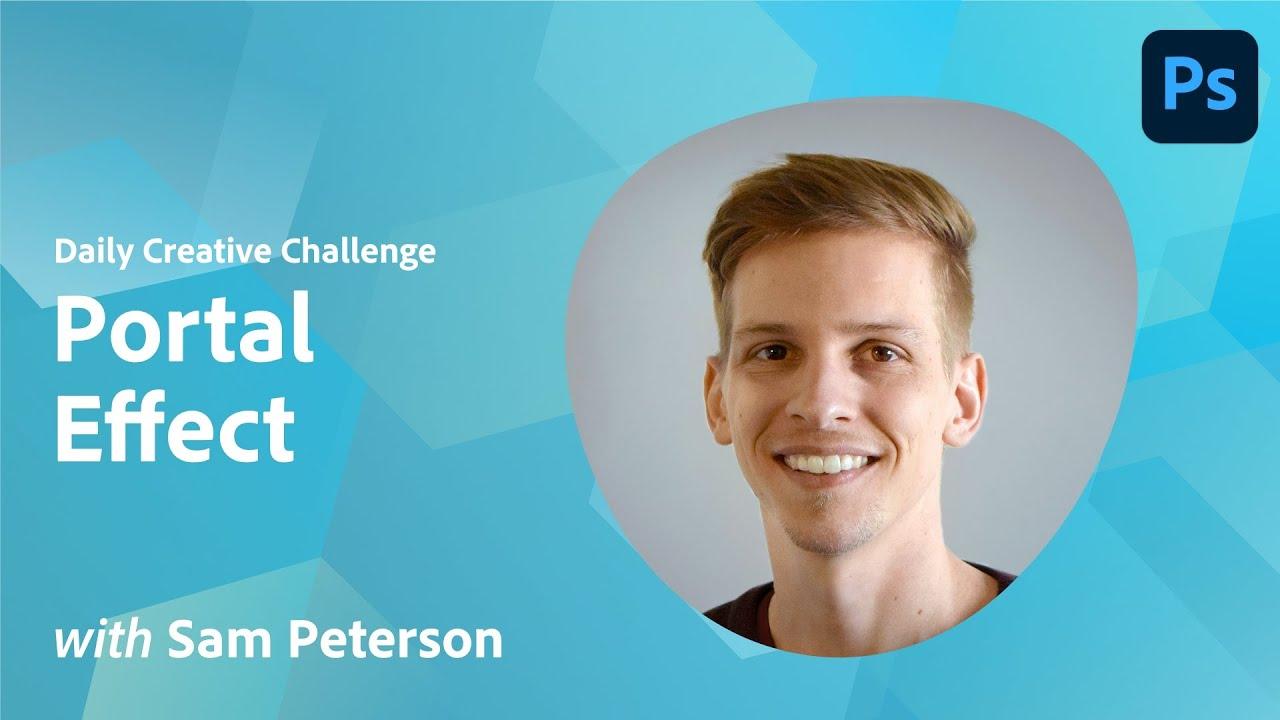 Photoshop Daily Creative Challenge - Portal Effect