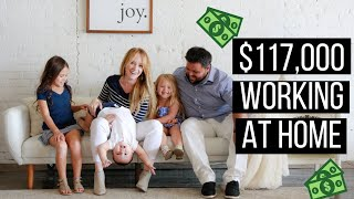 How I Made $117,000 My First Year Working From Home as a Social Media Manager - Perfect for Moms!