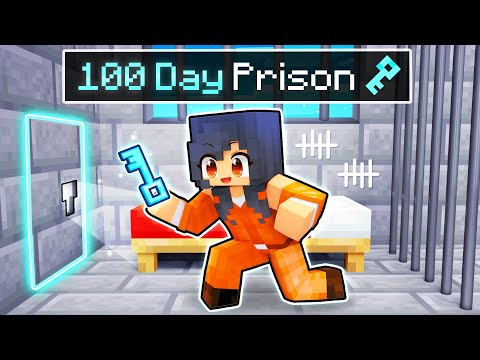 Breaking Out from a 100 DAY PRISON in Minecraft! - Aphmau