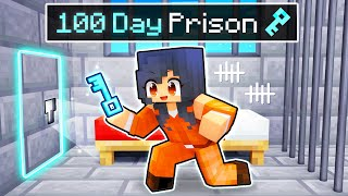 Breaking Out from a 100 DAY PRISON in Minecraft!