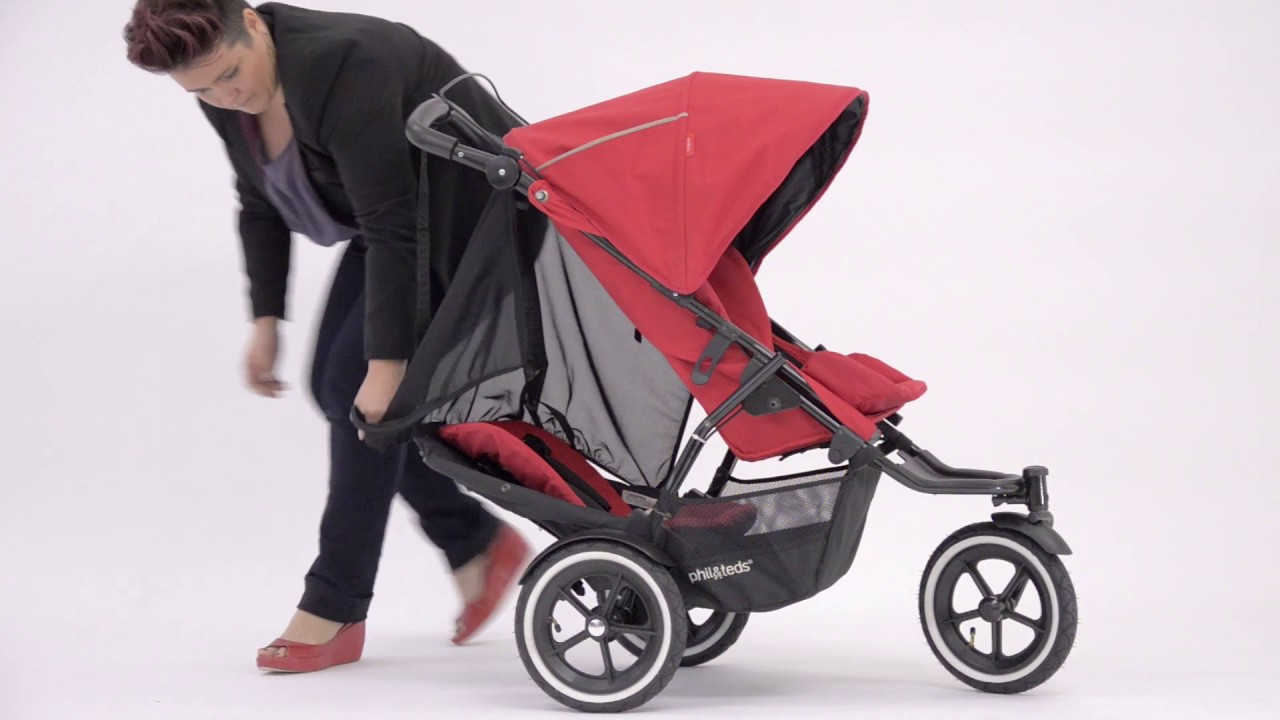 Phil And Teds Double Buggy Vibe Phil Teds Sport Instruktionsvideo