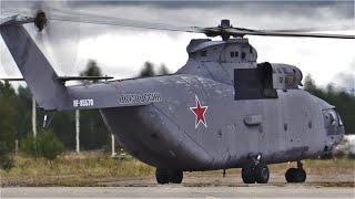 """Вертолет Ми-26Т запустился, развернулся, но так и не взлетел.../ Кубинка """"Армия-2020"""" / HELICOPTER /"""