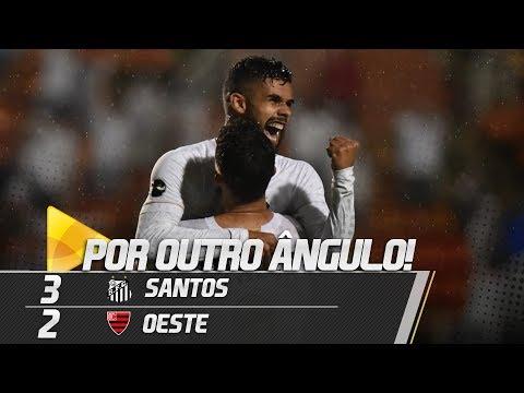 Santos 3 x 2 Oeste | GOLS POR OUTRO ÂNGULO | Paulistão (02/03/19)