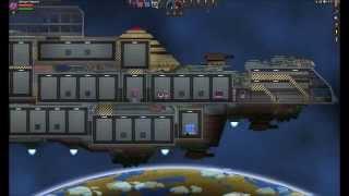 Starbound [Upbeat Giraffe] : All Floran Ship upgrade