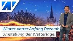Winterwetter ab Dezember? Mögliche Wetterumstellung! Das Wetter von heute (21. November 2019).