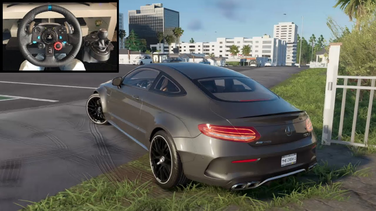 The Crew 2 Mercedes C63 AMG - Logitech g29 gameplay
