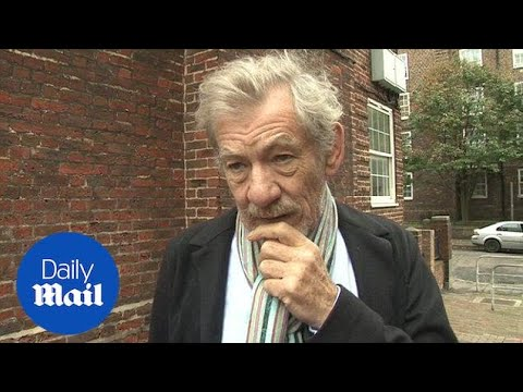 McKellen honours Peter Tatchell's human rights work in 2014 - Daily Mail