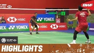 YONEX-SUNRISE Hong Kong Open 2019 | Semifinals MS Highlights | BWF 2019