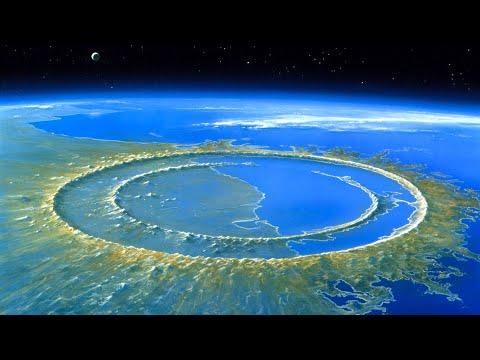 Чиксулуб - след от огромного метеорита, из-за которого вымерли динозавры. Ударные кратеры Земли.