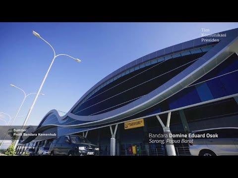 Presiden Jokowi: Jembatan Udara Mempersatukan Indonesia