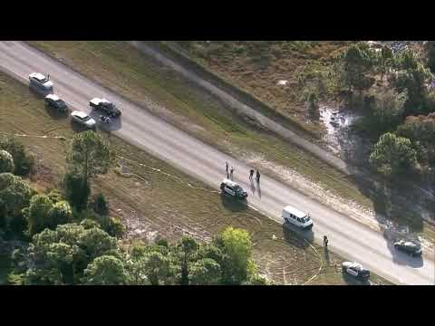 CHOPPER 5: Death Investigation In Boynton Beach Closes Portion Of Miner Road