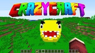 CRAZY CRAFT - YENİ SERİ (EFSANE)  😱 Minecraft