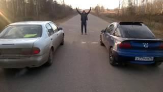 Opel Tigra 1.4 vs Nissan Almera 1.8