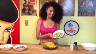 Ashley Zen - Black Bean Salad