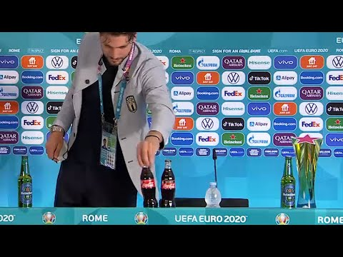 Manuel Locatelli joins Ronaldo's Coca-Cola snub by bringing his own water