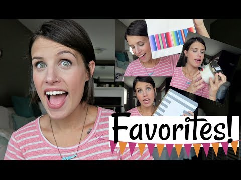 CURRENT FAVORITES! | LIFESTYLE, HOME, BEAUTY