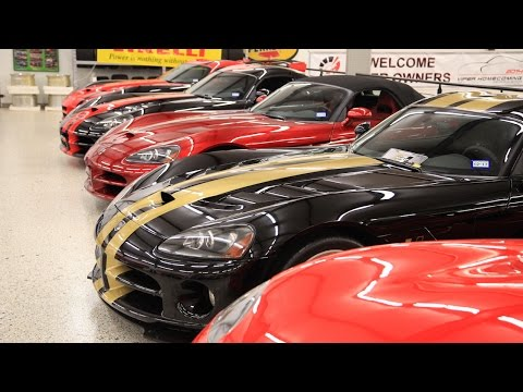 World's Largest Dodge Viper Collection