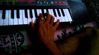 kyu ki itna pyar piano