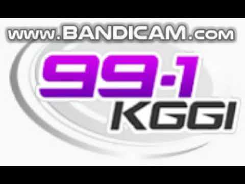 99.1 KGGI Station ID October 10, 2018 8:54pm