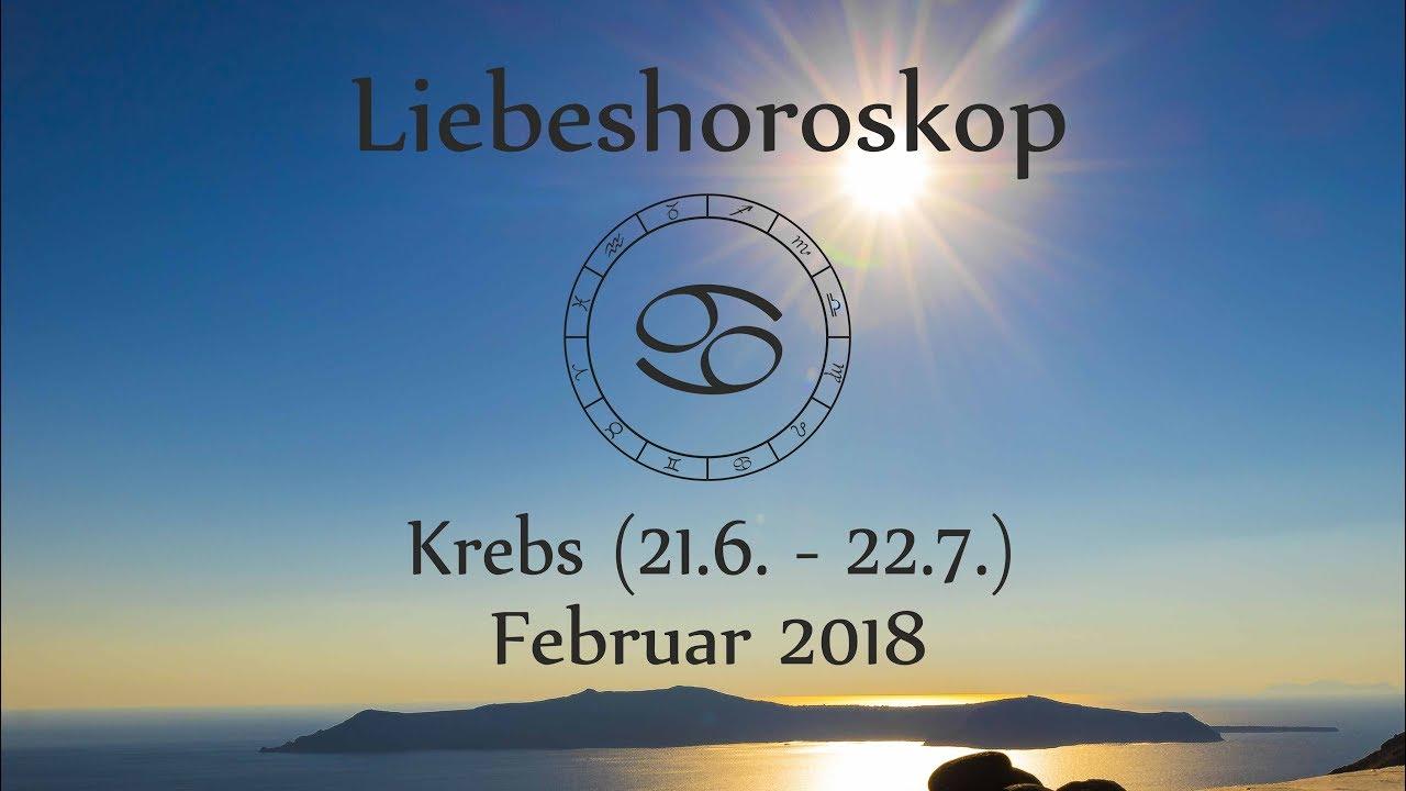 Horoskop Sternzeichen Krebs Liebe Und Leben Im Februar 2018 Youtube