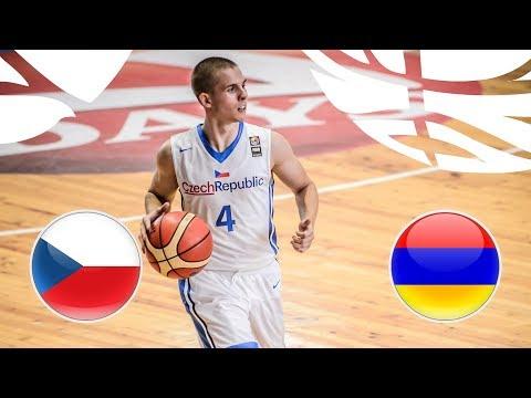 Czech Republic v Armenia - Full Game - FIBA U20 European Championship Division B 2018