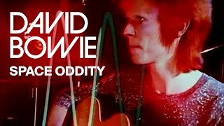 Watch David Bowie Space Oddity video