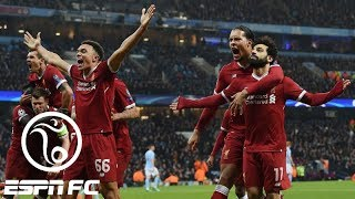 Liverpool shocks Manchester City with 2-1 away win, sending City out of Champions League | ESPN FC