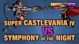Super Castlevania IV vs Symphony of the Night - RagnarRox